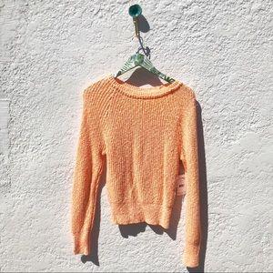 NEW Free People Tangerine Sweater Size XS